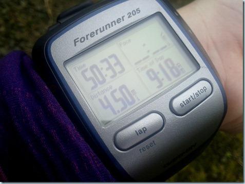 4.5 miles garmin
