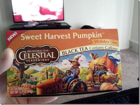 sweet harvest pumpkin