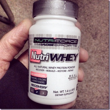 nutriforce whey