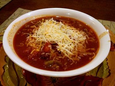 chili family dinner